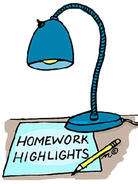 Homework Clipart at GetDrawingscom Free for personal